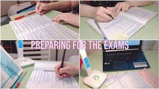 Preparing For The Exams | Study With Me | Учись со Мной